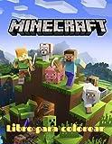Minecraft libro de colorear: 50 ilustraciones de alta calidad para niños y adultos