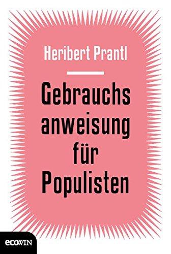 Gebrauchsanweisung für Populisten