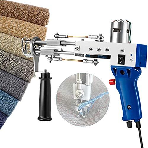Corte la pistola de sujeción de la alfombra de la pila, la máquina de tejer de la alfombra eléctrica, las máquinas de alfombras de la pistola de acoplamiento de alta velocidad, para el arte del tejido
