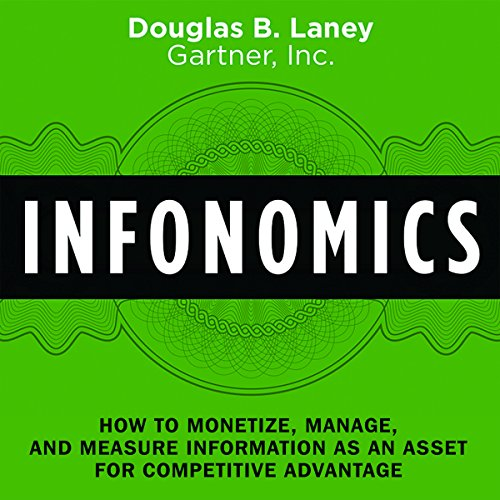 Infonomics audiobook cover art