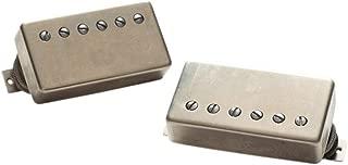 raw nickel humbucker covers
