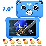 7'Display Kids Tablet, Android 9.0 Tablet with WiFi 2GB+16GB Parents Control & Kids Mode Pre-Installed Kid-Proof Silicone Case Supported YouTube IPS HD Display Kid friendly and use friendly Tablet
