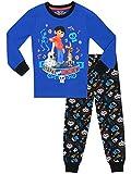 Disney - Ensemble De Pyjamas - Coco - Garçon - Bien Ajusté, Bleu, 4-5 ans