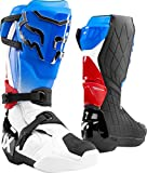 Fox Racing Comp R Men's Off-Road Motorcycle Boots - Blue/Red / 8