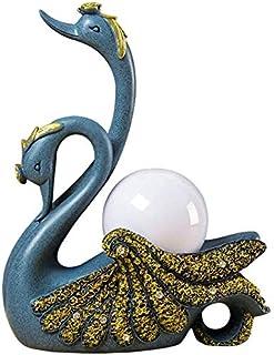 Lampes de table Lampe De Salon Nordic Swan Table Lampe à coucher Chambre à coucher Lampe de nuit Décoration personnelle La...