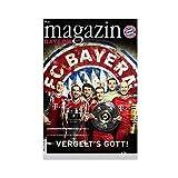 Fußball-Superstar Arjen Robben Leinwand Poster