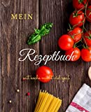mein rezeptbuch: good recipe book let to fill by it self with '7,5x9,25' cm of 100 pages ,rezeptbuch,kochen
