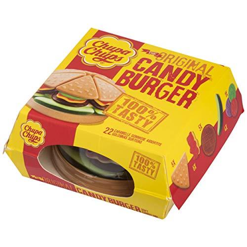 Chupa Chups Meals, Golosinas de Formas y Sabores Variados, Candy Burger de 130 gr.