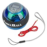 YANGHX Wrist Power Force Ball Arm Exercise Gyroscope with LED Lighting & Speed Meter
