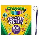 Crayola–Lápices de colores (paquete de 100) , color/modelo surtido