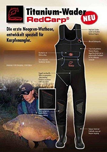Behr Titanium RedCarp® Neopren-Wathose Behr (5mm)
