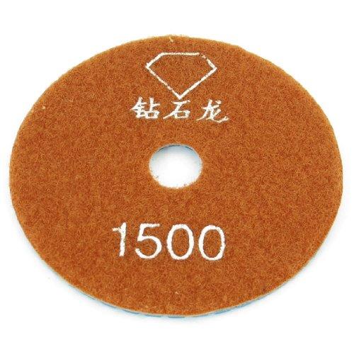 Sourcingmap a13090500ux1094 9,9 cm diameter 1500 korrel tegels stenen polijstmachine diamant polijstpad