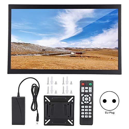 Monitor De Pc para Juegos 17.3in 1920x1080 Monitor Industrial De Metal Completo con Entrada Hdmi/vga/AV/bnc/USB 100-240v(EU)