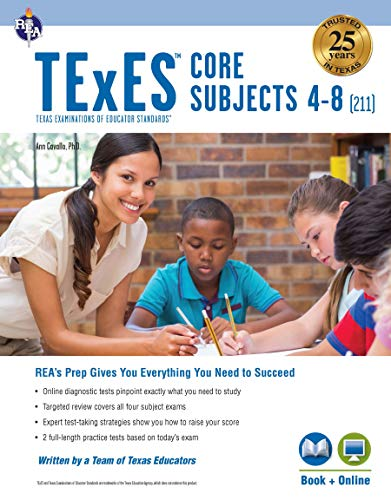 TExES Core Subjects 4-8 (211) Book + Online (TExES Teacher...