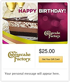 cheesecake gift card