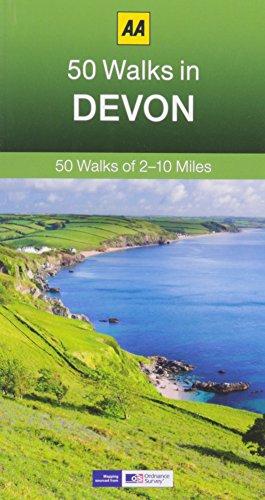 50 Walks in Devon (AA 50 Walks series)