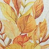 SIDCO Tischläufer Herbstblätter Herbst Laub Deko Tischband Tischtuch Läufer 40x150 - 3