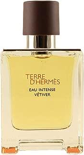 Terre D'Herm Eau Intense Vetiver Eau De Parfum for Men, 3.4 Ounce
