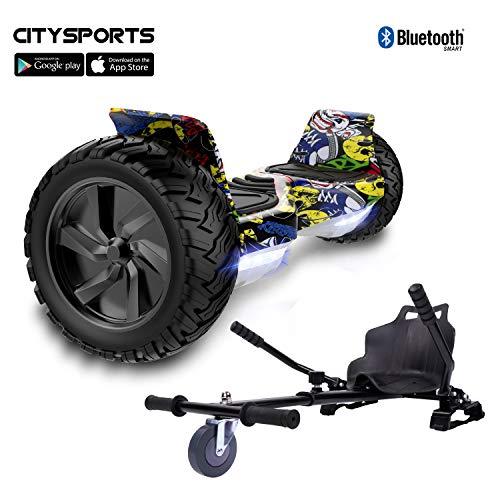 CITYSPORTS Hoverboard Fuoristrada 8.5', Hoverboard Hummer SUV, Bluetooth e...