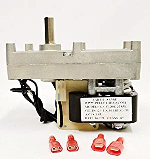 New Best Value - Universal Replacement Pellet Stove Auger Motor - 1 RPM Clockwise!