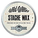 Wild Willie's Mustache Wax Original - The Only Hard Wax...