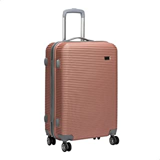 JB Luggage Trolley Travel Bag, Size 24 - Rose Gold