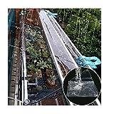 Lona MYAN Impermeable, Toldo Transparente con Metal Ojales, Transparente Grueso Cubrir para Canopy Tienda Piscina De Barcos, Prueba Lágrima, 420g/m² (Color : Clear, Size : 2M X 3.5M)