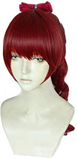 コスプレ ウィッグ 芳澤霞 ペルソナ5 ウィッグ かつら 高温耐熱 コスプレ 62cm cosplay wig レッド