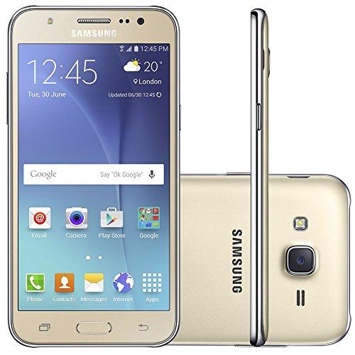 Samsung - Smartphone Galaxy J5 Duos J500M, Tela 5'', 16GB, Dourado