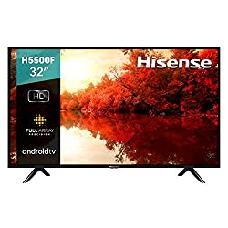 cheap Hisense H55 32 inch Android TV with voice remote control (model 32H5500F, 2020)