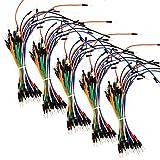 AZDelivery 5 x Jumper Wire cables de Puente 65 piezas para Arduino y Raspberry Pi Breadboard
