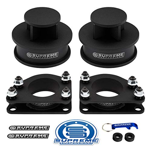 """Supreme Suspensions - Full Lift Kit for 2007-2012 Dodge Nitro 2.5"""" Front Strut Spacers + 2"""" Rear Spring Spacers High-Strength Carbon Steel Lift Kit 2WD 4WD PRO KIT"""