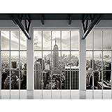 Tapisserie Photo New York 352 x 250 cm Laine papier peint Salon Chambre Bureau Couloir décoration Peinture murale décor mural moderne - 100% FABRIQUÉ EN ALLEMAGNE - 9187011a