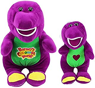 Barney dinosaur can sing a song plush cartoon doll toy purple stuffed soft gifts 30cm and 45cm