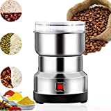 Electric Coffee Grinder 150W Low Noise Mill Spice Herb Grinding Tool Stainless Steel Electric Coffee Bean...
