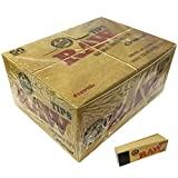 100% Raw Original Tips 50 Caja de 50 Paquetes Roach Caja Llena 50 por Cuadernillos