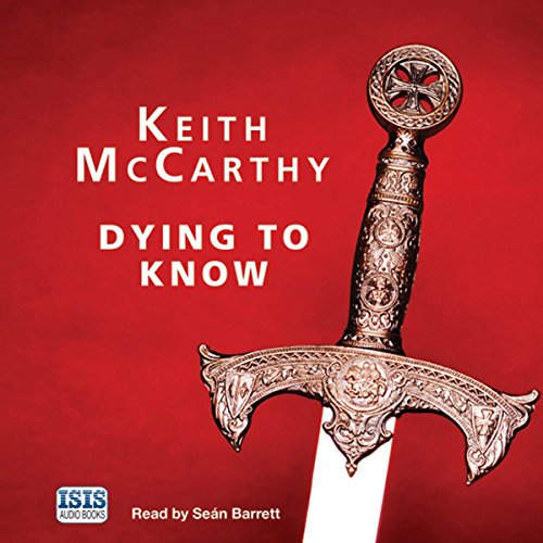 Dying to Know audiobook cover art