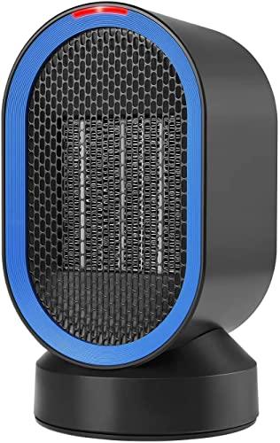 LLRZ Termoventilador Calentador de cerámica de cerámica oscilante portátil 600W Calentador de Ventilador eléctrico portátil 100 W con Viento Natural Caliente Vertical Calefactor
