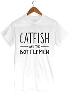Catfish and The Bottlemen Letters Women T Shirt Cotton Casual Funny White XXL