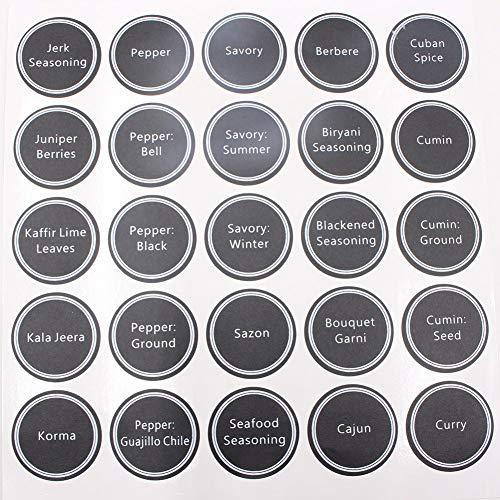 Spice Labels 13 PC's und Accessoires Fles Tags Waterdichte Decor Keuken Gedrukt Classificatie Potjes Stickers Home Pantry PVC Lijm