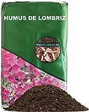 Humus de lombriz, sustrato para Plantas, 100% Natural