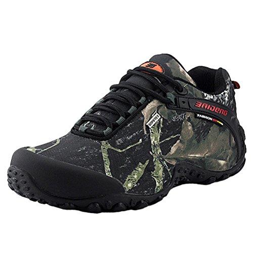 MatchLife MatchLife Herren Camouflage Wanderschuhe Sports Schuhe Style2 Grau EU42/CH43