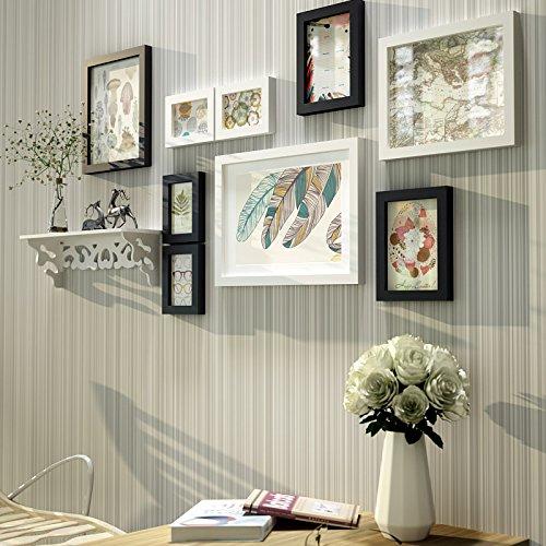 Fotolijst fotogalerij fotogalerij, fotocollage galerij, kunststof en echt glas, New Life Style