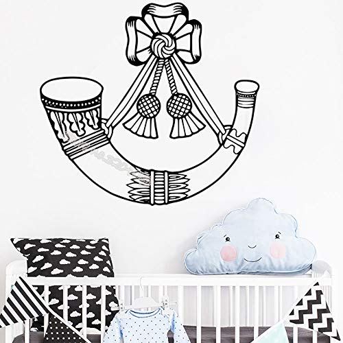 zhuziji Personalisierte Maus Krone mit Schloss Wandaufkleber Prinzessin Mädchen Benutzerdefinierten Namen Decals Dekor Kinderzimmer Kinderzimmer Wandbild L84x84cm