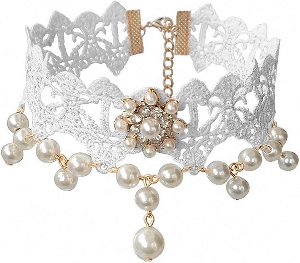 Xileg Choker Necklace Lace Necklace & Pendant Vintage Women Accessories Gothic Jewelry False Collar Statement Necklaces GN-48