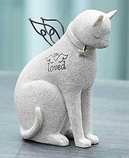 ペット メモリアル グッズ 心を癒してくれる猫 お墓 墓石 Loved 置き物 人形 [並行輸入品]