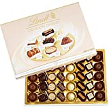 Contains 1 box filled with 40 assorted chocolates Creme brulee, chocolate brownie, tiramisu, caramel éclair, meringue, fondant chocolate and millefeuille Lindt delivers a unique chocolate experience with a distinctly smooth taste Perfect for store co...