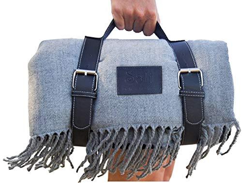 Soft Picnic Blanket, Beach Blanket, Extra Large, Folding, Travel, Waterproof,...