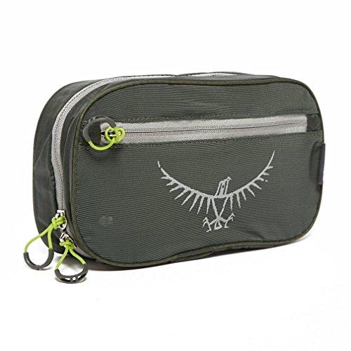 osprey grey ultralight washbag zip