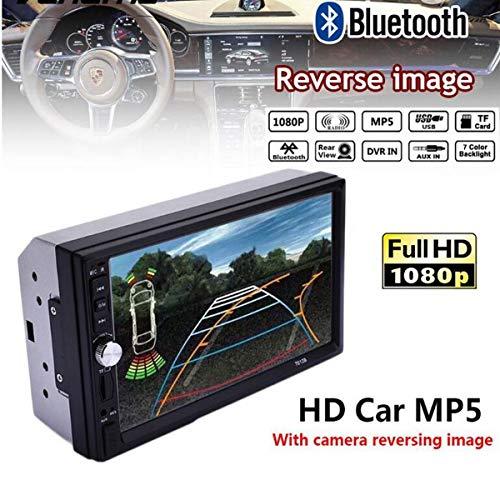 ZHUHAI HONGKANG DONGMAO TRADING CO LTD LCD Touch Screen Autoradio Lettore MP5 Bluetooth HD 1080 P Film 2 din Car Audio Specchio Link Per Android 7012B